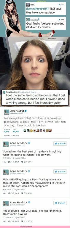 Top 5 #Hilarious Tweets By Anna Kendrick