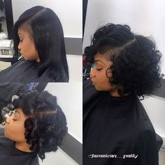 top short weave hairstyles 2019 hairstyles nicehairstylesweave short top weave 202 + braided hairstyles for black girls black braided girls hairstyles braidedponytail Short Weave Hairstyles, Girl Hairstyles, Gorgeous Hairstyles, Curly Hair Styles, Natural Hair Styles, Twisted Hair, Hair Laid, My Hairstyle, Hair Studio