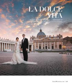 Lovella Bride Molly in @Ines Di Santo is in the current issue of @Inside Weddings, on newsstands now!