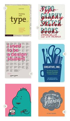 Always wondering if I should have gone to school for design...  Graphic Design Book Round-up | Julep