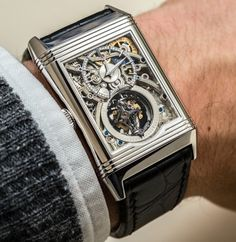 Jaeger-LeCoultre Reverso Tribute Gyrotourbillon Watch Hands-On