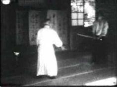 """Aikido - Morihei Ueshiba - Way of Harmony - 02"" Video of O-Sensei, founder of Aikido, near the end of his life (1970s?)"