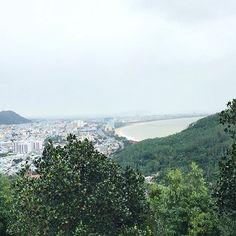 Beautiful Quy Nhon from above 🏖️️ #travelbloggers #iamtb #blogginggals    #Regram via @katielewla
