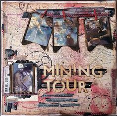 American Vintage mixed media scrapbooking lo - documenting the journey - 7gypsies Rustic Pictures, Travel Scrapbook, My Scrapbook, Scrapbook Generation, Mixed Media Scrapbooking, Scrapbooking Layouts, May Arts, Tombow, Canvas Home