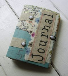 Mixed Media Journal by Jennibellie, blog http://jennibelliestudio.blogspot.com