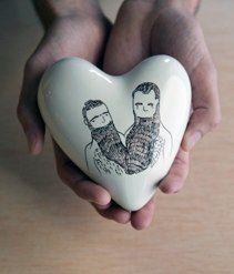Aitor Saraiba. Corazón enamorados. © http://www.aitorsaraiba.com/