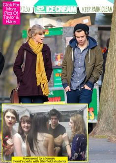 Ummm Harry, what are you doing with all those girls? And where's Taylor?!