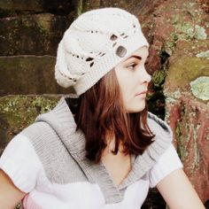 """Materials: • Lion Brand Wool Ease or any worsted weight yarn, 85 g/3 oz • US H8/5.00 mm hook • 1 button This hat is worked in rounds, from top to bottom. Finished hat will fit an average adult head. Gauge: 15 dc x 8 rows = 4"""" x 4"""" (10 cm x 10 cm) square Abbrevations: • Ch-chain • Sl st-slip stitch • Dc-double crochet • Trc-treble crochet • Fpdc-front post double crochet • Dc2tog-2 double crochet finished together • Dc3tog-3 double crochet finished together • Dc4tog-..."""
