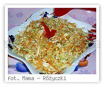 Wielkie Żarcie - Przepis - Surówka z białej kapusty i sosem ziołowym