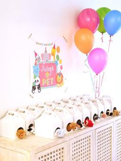 Pet Adoption - Adopt a pet birthday party printables for the animal lovers in your life- animal birthday party theme