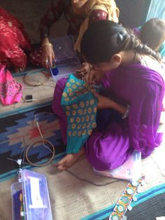 Women's empowerment comes in the form of skills training and the realisation that THEY CAN