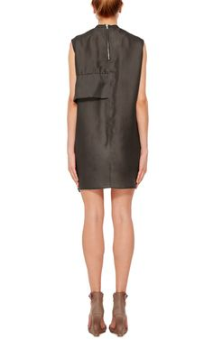 Sleeveless Rouched Tunic by RICK OWENS Now Available on Moda Operandi