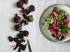 Beetroot Salad With Lentil Sprouts • KRAUTKOPF