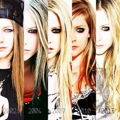 """""""@iHearttAvril: It's crazy how @Avril Lavigne haven't aged a day over the years! She's SO beautiful  pic.twitter.com/sNFLmA89Mx""""OMG thank u!"""