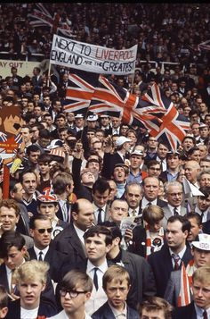 World Cup Final, Wembley Stadium, London, England, United Kingdom, 1966, photographer unknown.