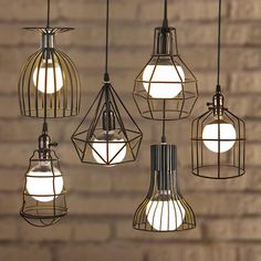 NEW Arrival Loft Vintage Lamp Industrial Retro Iron Pendant Light Bar ...