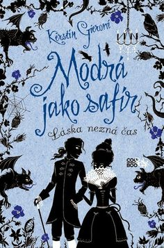 Recenze - Modrá jako safír | Bookshelf stories