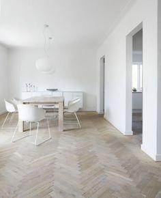 Visgraat parket - De Vloerderij houten vloeren
