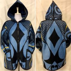 Blanket Coat, Ankara Fabric, African Fashion Dresses, Clothing Co, Hoodie Jacket, Cape Town, Swagg, Afro, Coats