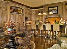Just Beautiful Kitchens On Pinterest Tuscan Kitchens Mediterranean Kitchen And French Country