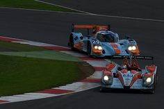 No 35 OAK Racing Morgan Nissan & No 29 Gulf Racing Middle East Lola B12/80 Coupé-Nissan