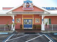 Florida Seafood, Cocoa Beach, FL.  Love the hushpuppies with powdered sugar!