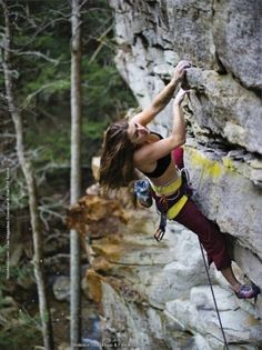 rockclimbing by morgan
