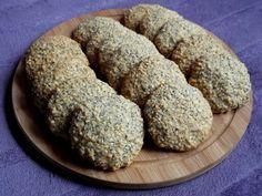 Pyszne ciasteczka z płatków owsianych...   Z dodatkiem maku i sezamu...   Miękkie i delikatne...   Doskonały drobiazg do he...