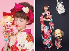 blythe doll #kimono #blythe