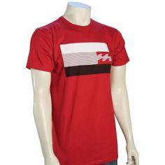 Billabong Level T-Shirt - Red