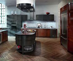 LG Black Stainless Steel Appliances On Display