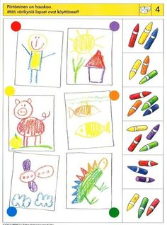 Visual Perceptual Activities, Cognitive Activities, Brain Activities, Montessori Activities, Preschool Education, Teaching Kindergarten, Preschool Worksheets, Preschool Learning, Kids Activity Books