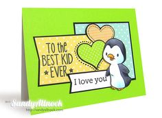 A penguin….for the best kid ever