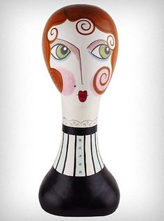 Mimi Mannequin Head Designed by Flapperdashery for Silvestri. $68.00, via Etsy.