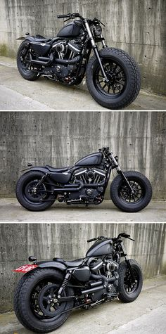 10 Persevering Clever Tips: Harley Davidson Iron 883 Bobber harley davidson old school pipes.Harley Davidson Knucklehead Black harley davidson forty eight stock.Harley Davidson Forty Eight Stock. Motos Harley Davidson, Harley Davidson Fat Bob, Harley Davidson Night Train, Bmw Cafe Racer, Cafe Racers, Bobber Motorcycle, Motorcycle Style, Cool Motorcycles, Harley Bobber