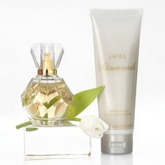 JAFRA Diamonds Duo - Limited Time Eau de Parfum & Limited Time Shimmering Body Lotion #fragrance #perfume