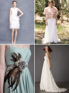 1000 images about feathers on pinterest feather wedding for Wedding dress with feathers on bottom