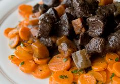 Beef Bourguignon with Carrots
