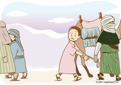 Joseph sold to the caravan.