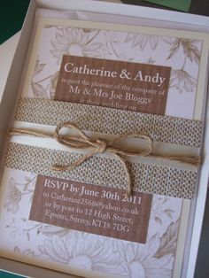 Wedding Invite - Different background, don't like the flowery look.