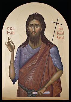 Orthodox Icons, Male Sketch, Art, Character, St John, John