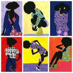 30 Black Woman-Owned Online Stores to Shop This Holiday Season  Jamilla Okubo is a painter, illustrator, and designer who uses vibrant African textiles, prints, and paint to create her one-of a kind pieces. Click here and here to shop her work.
