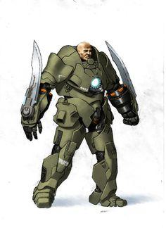 Armor Concept by Uberlegen31 on DeviantArt