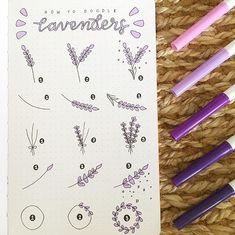 Doodle ideas to try in your bullet journal. Have fun decorating your bujo (bullet journal) with these creative doodle ideas. Bullet Journal Banner, Bullet Journal Lettering Ideas, Bullet Journal Notebook, Bullet Journal Ideas Pages, Bullet Journal Inspiration, Kalender Design, Flower Doodles, Doodle Flowers, Draw Flowers