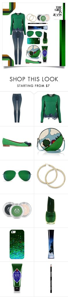 """JEANS STYLE"" by qstyled ❤ liked on Polyvore featuring NYDJ, 3.1 Phillip Lim, Malone Souliers, Olympia Le-Tan, Victoria Beckham, The Body Shop, Casetify, Giorgio Armani and Jack Black"