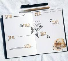 """Polubienia: 198, komentarze: 6 – Virginie (@french_dreamer_life_lover) na Instagramie: """"Prête pour nouvelle semaine #juillet #july#week #weekly #weeklyspread #spread #dailies…"""""""