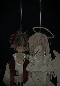 Anime Style, Anime Elf, Sad Anime Quotes, Vent Art, Dark Anime, My Demons, Yandere, Manga, Anime Couples