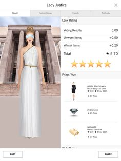 Covet Fashion daily challenge 4.50+ rating
