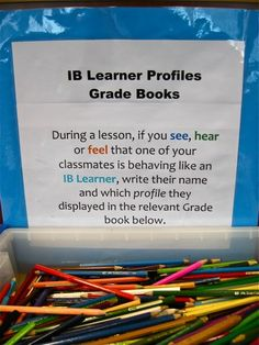 Making it Happen at ENS: Learner Profile and PYP Displays at ENS..