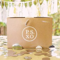 P.S. XO delivers beautiful parties right to your doorstep! Our boxes are designed to help your family enjoy the process of creating your celebration, from the moment you open the box until the last bite of birthday cake is gone.